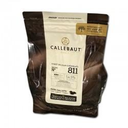 Callebaut / Callets Chocolat noir 2,5kg / 10 Kg