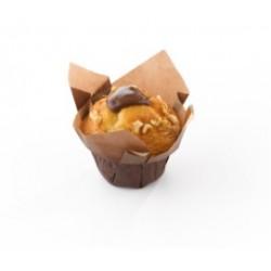 Vandenmoortele / Muffin à la vanille fourré au cacao-noisette 36P