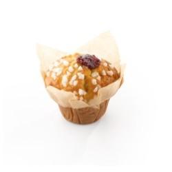 Vandenmoortele / Muffin aromatisé au citron fourré à la framboise P36
