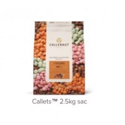 Callebaut / Callets Chocolat &  Caramel 2,5 Kg