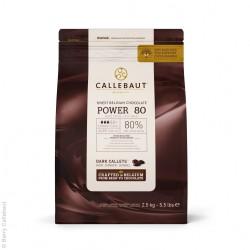 Callebaut / Callets  Chocolat 80% 2,5 Kg / 10 Kg