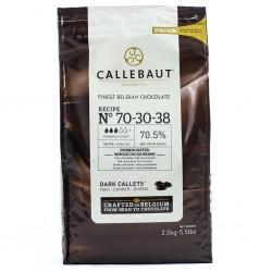 Callebaut / Callets Chocolat 70% 2,5 Kg / 10 Kg