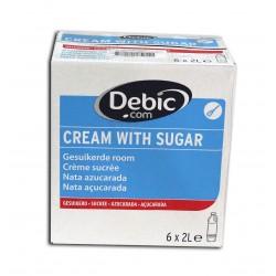 Debic / Crème à fouetter sucrée 6 x 2 L