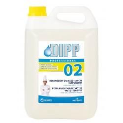 Dipp / Professionnel 02 Dégraissant graisses tenaces surpuissant 5L