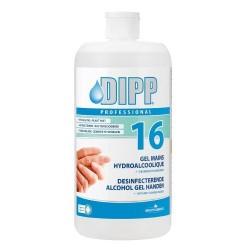 Dipp / Professionnel 16 Gel Mains Hydroalcoolique 1L
