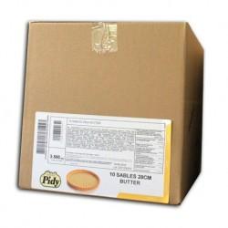 Pidy / Pâte sablées 28 cm 10 pièces