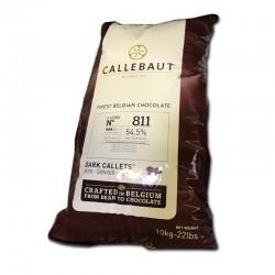 Callebaut / Callets noir 54,5% / 811 (10Kg)