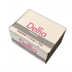 Delfia / Margarine Pâtisserie 4 plaques  2,5 Kg